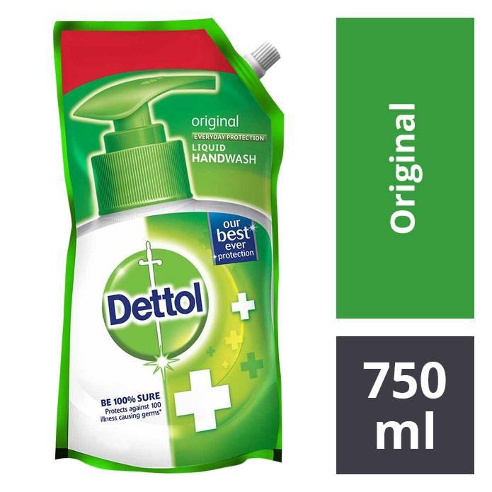 Dettol Original Hand Wash 750 Ml refill