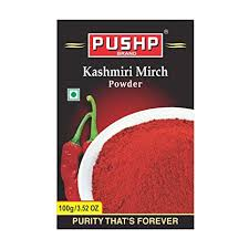 pushp kashmiri chilli powder 100gm