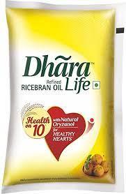 RICE BRAN OIL (DHARA) 1 ltr