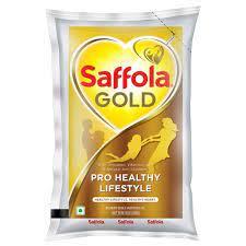 MUSTRED OIL ( SAFFOLA GOLD)1LTR